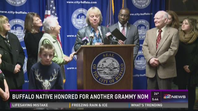 Buffalo Native Honored For Another Grammy Nom