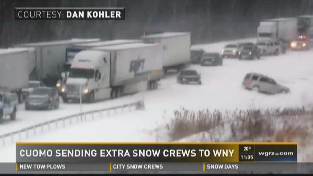 Thruway Reopens After Accident