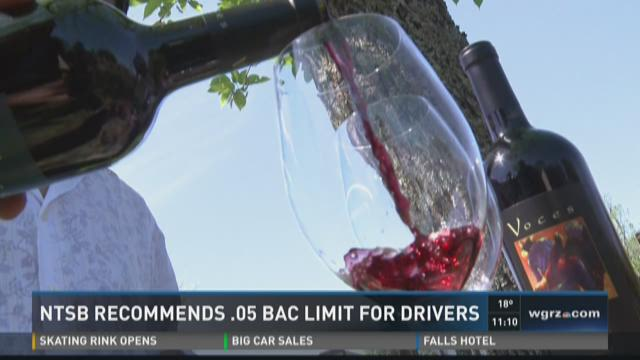 NTSB Recommends .05 BAC Limit for Drivers