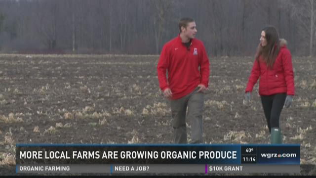 More local farms are growing organic produce