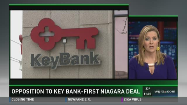 Opposition To Key Bank-First Niagara Deal