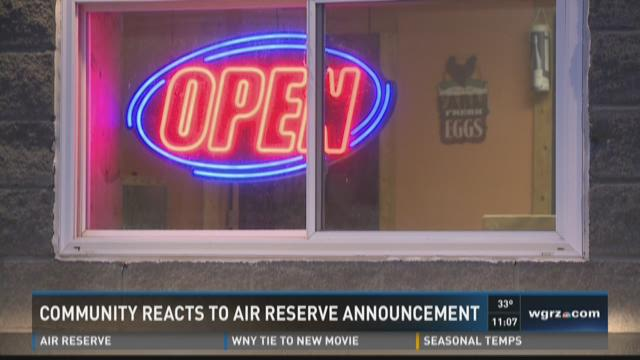 Community reacts to air reserve announcement