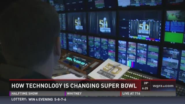 Technology Changing Super Bowl