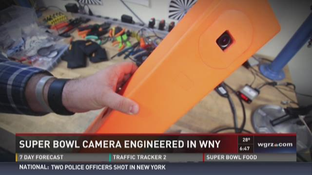 WNY's connection to Super Bowl Pylon Cam
