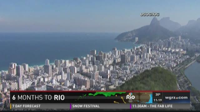 Six months to Olympics in Rio