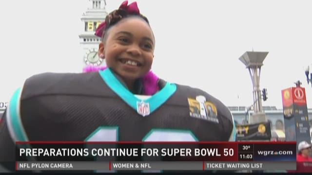 Preps continue for Super Bowl 50