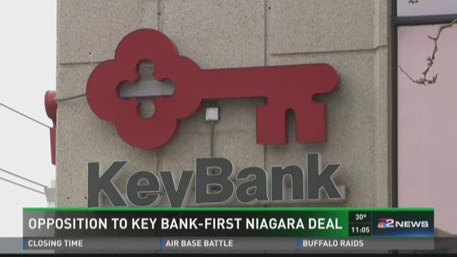 Opposition to KeyBank-First Niagara deal