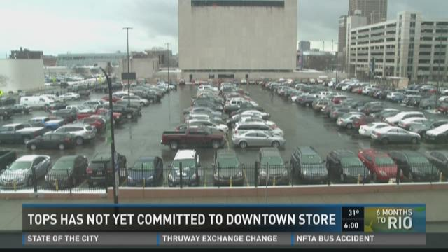Tops Has Not Yet Committed To Downtown Store