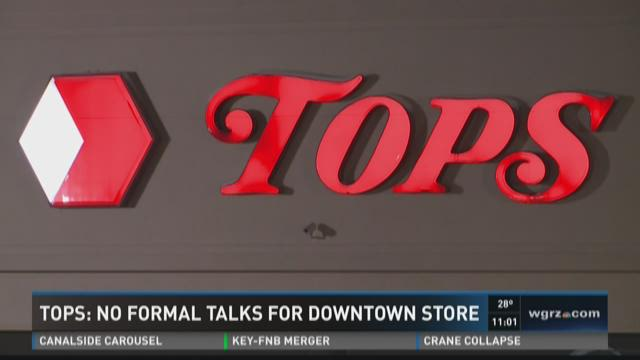 Tops: No Formal Talks for Downtown Store