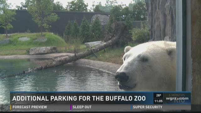Additional parking for the Buffalo Zoo