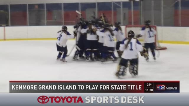 Kenmore/Grand Island girl's hockey advances to state final