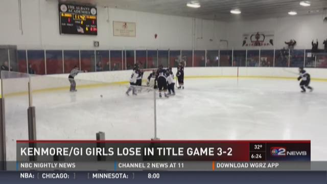 Kenmore/GI girl's hockey loses in state final