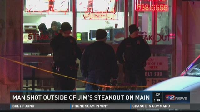 Shooting Outside Main St Jims Steakout