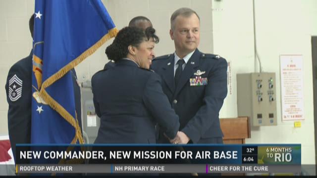 Niagara Falls New Airbase Commander