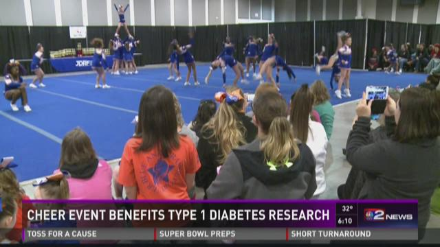 Cheer Event Benefit For Diabetes Research
