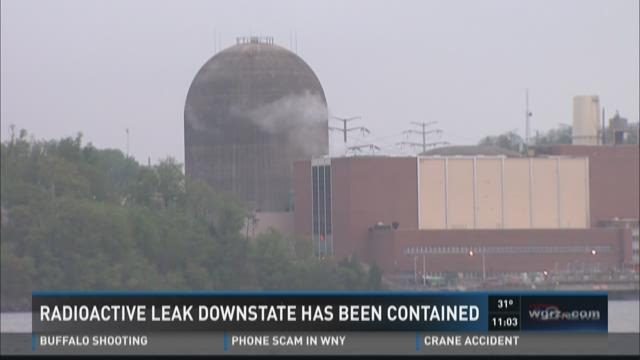 Radioactive Leak Downstate Has Been Contained