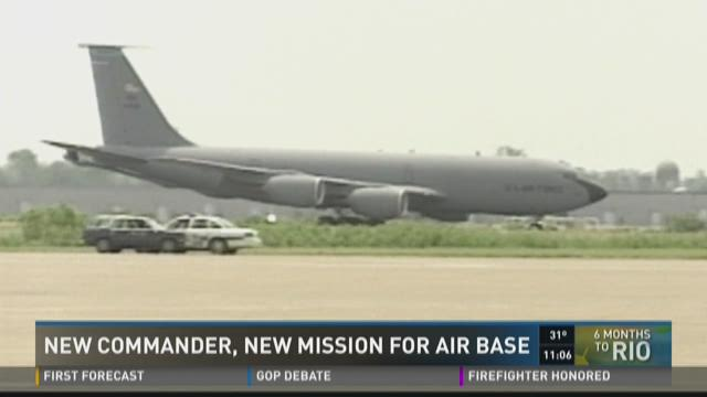 New Commander New Mission for Air Base