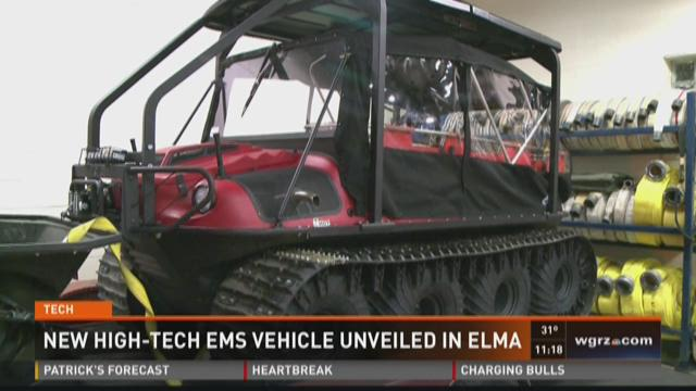 New High-Tech EMS Vehicle Unveiled in Elma