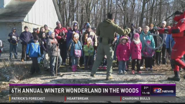 6th Annual Winter Wonderland and in The Woods