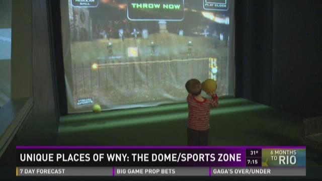 Unique Places: The Dome Sports Zone