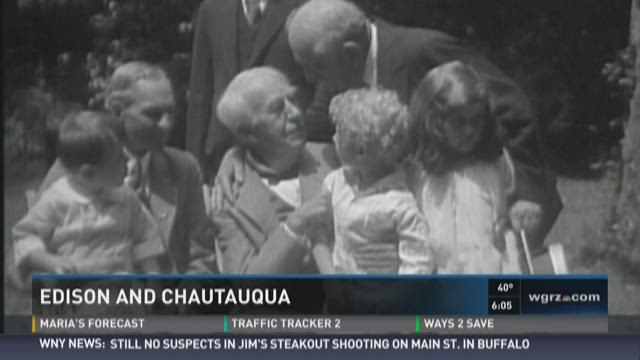 Unknown Stories of WNY: Edison and Chautauqua