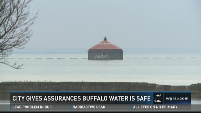 City Gives Assurance Buffalo Water Is Safe