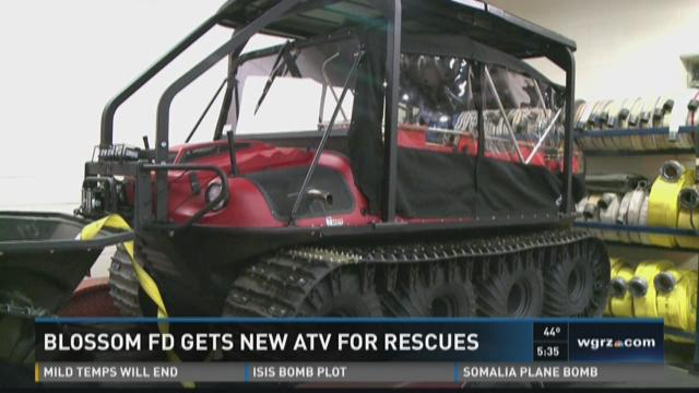 Blossom FD Gets New ATV For Rescues