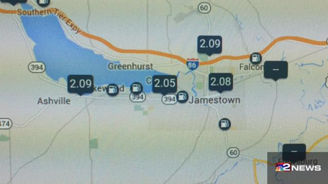 Gas Hasn't Dipped Below $2/gal In Chautauqua Co.