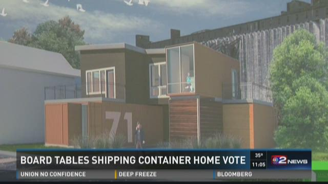 BOARD TABLES SHIPPING CONTAINER HOME VOTE