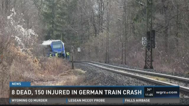 Several dead, injured in German train crash