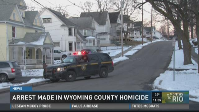 Arrest made in Wyoming County homicide