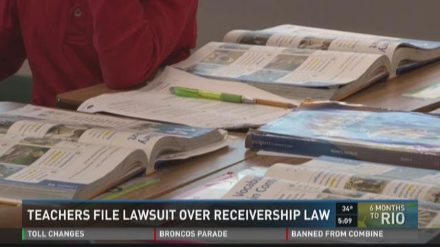 Teachers File Lawsuit Over Receivership Law