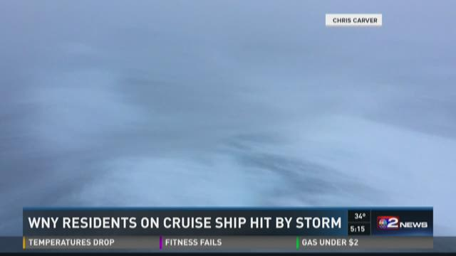WNY Residents On Cruise Ship Hit By Storm