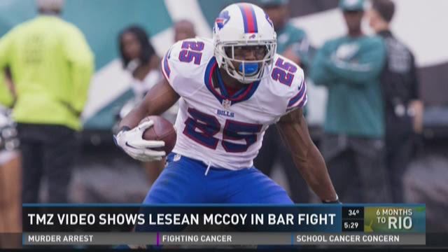 TMZ Video Shows LeSean McCoy In Bar Fight