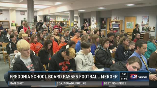 Fredonia School Board passes football merger