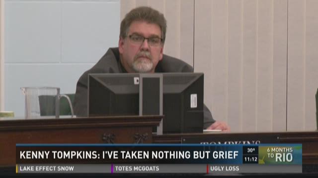 KENNY TOMPKINS: I'VE TAKEN NOTHING BUT GRIEF