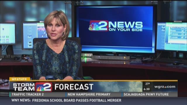 Daybreak lake effect snow forecast