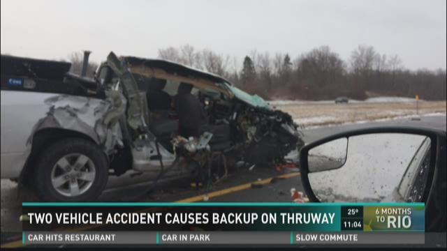 Snow causes traffic problems in WNY