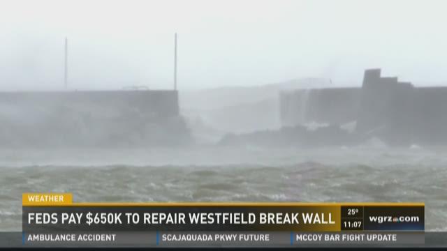 Feds to pay $650,000 to repair Westfield breakwall