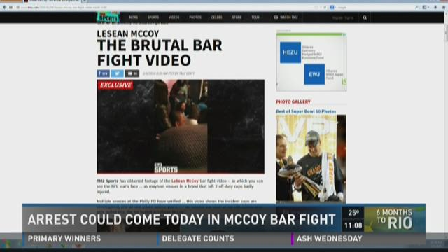 Arrest could come in McCoy bar fight