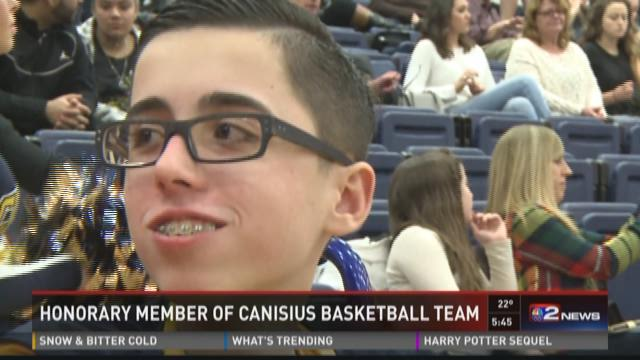Local boy forms bond with Canisius hoops