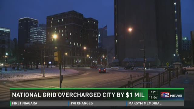 National Grid Overcharged City By $1 Million