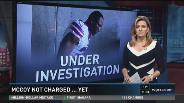 McCoy Not Charged...Yet