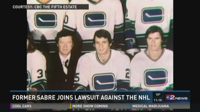 Former Sabre Joins Lawsuit Against the NHL