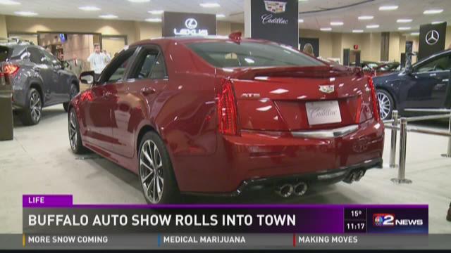 Buffalo Auto Show Rolls Into Town