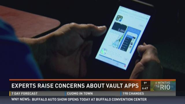 Concerns about vault apps