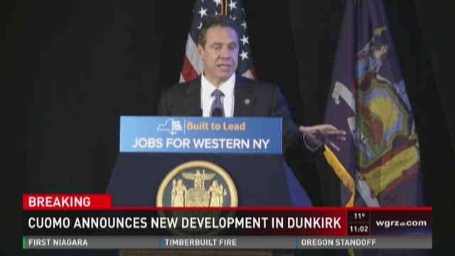 Cuomo announces new development in Dunkirk