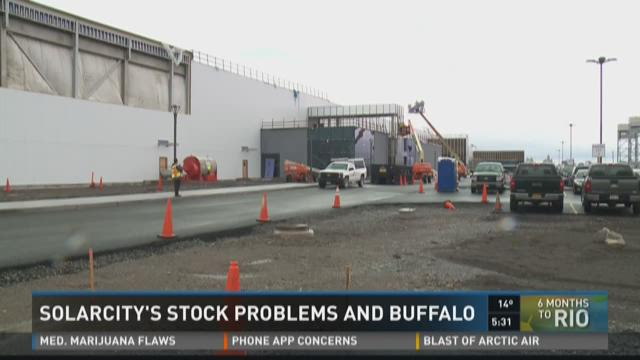 SOLAR CITY'S STOCK PROBLEMS AND BUFFALO