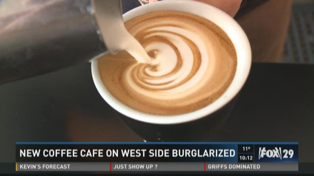 New Cafe On West Side Burglarized