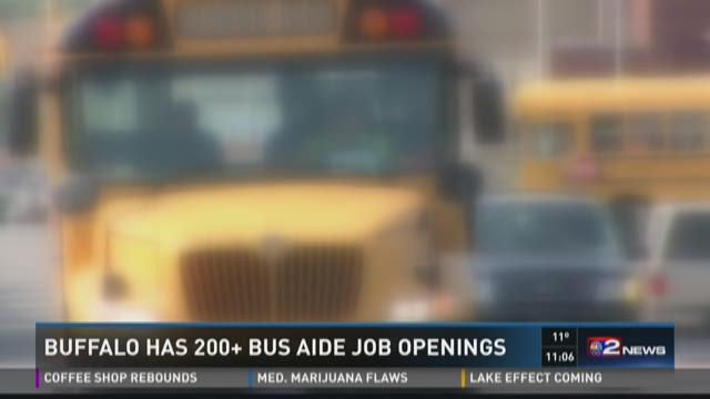 Buffalo In Need of School Bus Aides